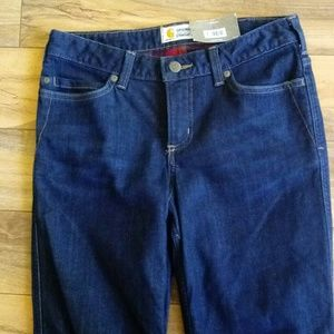 Carhartt flannel lined jeans size 4 NWT